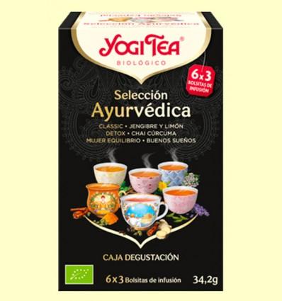 Selección Ayurvédica Bio - Yogi Tea - 6 x 3 infusiones