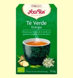 Té Verde Energía Bio - Yogi Tea - 17 infusiones