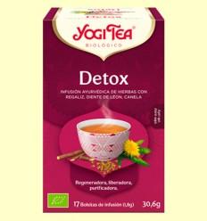 Detox Bio - Yogi Tea - 17 infusiones