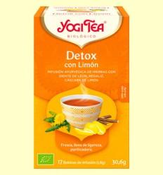 Detox con Limón Bio - Yogi Tea - 17 infusiones