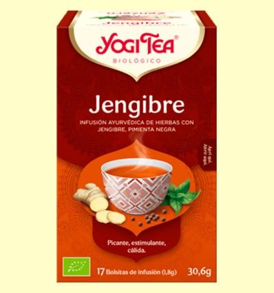 Jengibre Bio - Yogi Tea - 17 infusiones