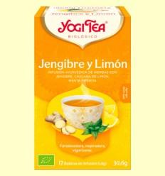 Jengibre y Limón Bio - Yogi Tea - 17 infusiones