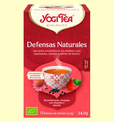 Defensas Naturales Bio - Yogi Tea - 17 infusiones