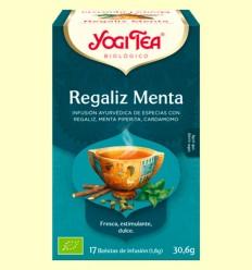 Regaliz Menta Bio - Yogi Tea - 17 infusiones