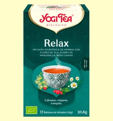 Relax Bio - Yogi Tea - 17 infusiones