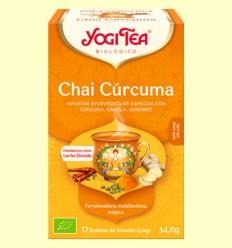 Chai Cúrcuma Bio - Yogi Tea - 17 infusiones
