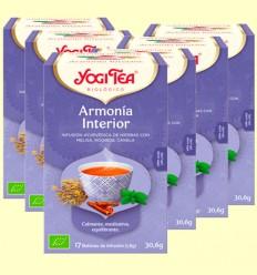 Armonía Interior Bio - Yogi Tea - Pack 6 x 17 infusiones