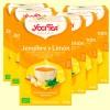 Jengibre y Limón Bio - Yogi Tea - Pack 6 x 17 infusiones