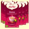 Detox Bio - Yogi Tea - Pack 6 x 17 infusiones