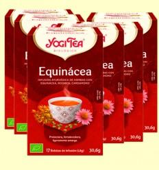 Equinácea Bio - Yogi Tea - Pack 6 x 17 infusiones