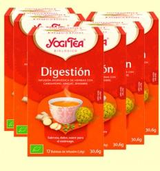 Digestion Bio - Yogi Tea - Pack 6 x 17 infusiones