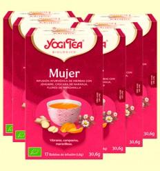 Mujer Bio - Yogi Tea - Pack 6 x 17 infusiones