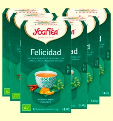 Felicidad Bio - Yogi Tea - Pack 6 x 17 infusiones