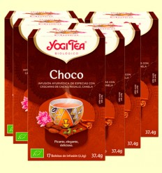 Choco Bio - Yogi Tea - Pack 6 x 17 infusiones