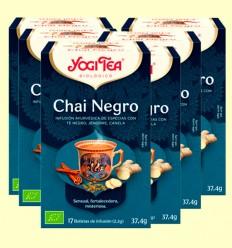 Chai Negro Bio - Yogi Tea - Pack 6 x 17 infusiones