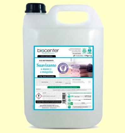 Eco Suavizante Ropa Lavanda Bio - Lavadora y a Mano - Biocenter - 5 litros