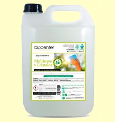 Ecodetergente Multiusos y Cristales Spray Bio - Biocenter - 5 litros