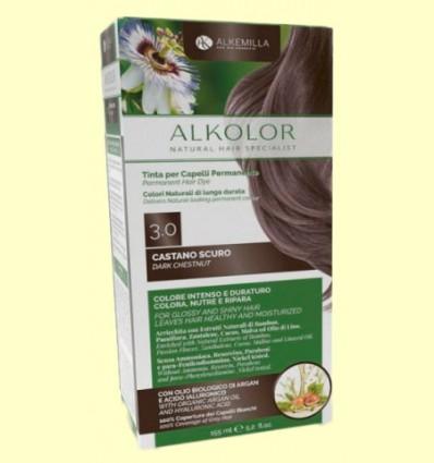 Alkolor Castaño Oscuro 3.0 - Biocenter - 155 ml