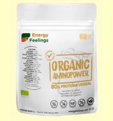 Organic Aminopower 80% Neutro - Energy Feelings - 200 gramos
