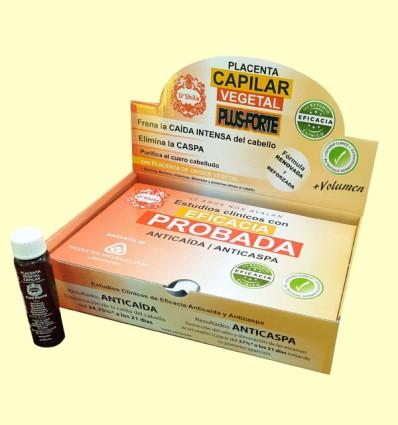 Placenta Capilar Vitaminada con Ginseng - D'Shila - 25 ml