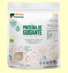 Proteína de Guisante Eco Vainilla - Energy Feelings - 1 kg