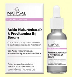 Ácido Hialurónico 4D y Provitamina B5 Sérum - Natysal - 20 ml