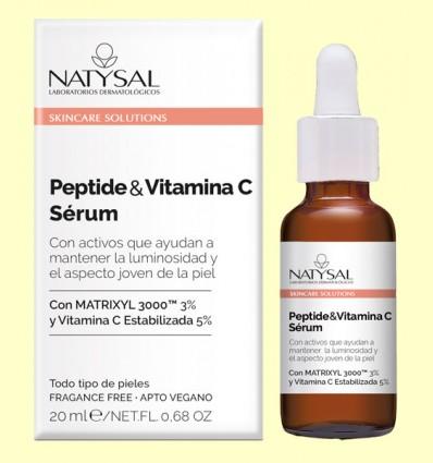 Péptide y Vitamina C Sérum - Natysal - 20 ml