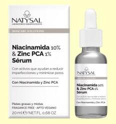 Niacinamida 10% y Zinc Pca 1% Sérum - Natysal - 20 ml