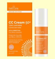 CC Cream Vitamina C 50+ - Natysal - 20 ml