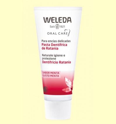 Pasta dentrifica de Ratania - Weleda - 75 ml