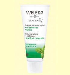 Gel Dentífrico Vegetal - Weleda - 75 ml