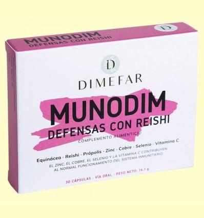 Munodim Equinácea y Reishi - Laboratorios Dimefar - 30 cápsulas