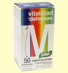 Complex Multivitamin Vitalidad y Defensas - Santiveri - 50 comprimidos