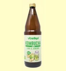 Kombucha Lima y Jengibre Bio - Voelkel - 750 ml