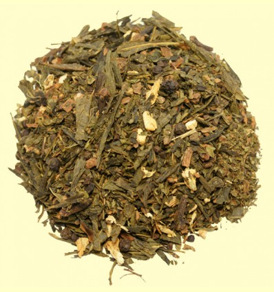 Té Verde con Cardamomo, Canela y Especias
