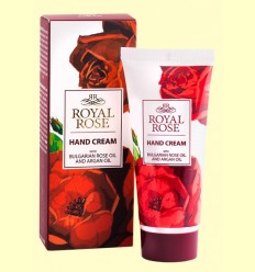 Crema de Manos con Aceite de Rosa Bulgaria y Argán - Biofresh Royal Rose - 50 ml