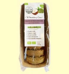 Galletas de Trigo Sarraceno con Té Matcha y Coco Bio - Eco-Salim - 130 gramos