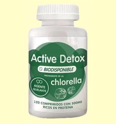 Active Detox Chlorella - Energy Feelings - 120 comprimidos