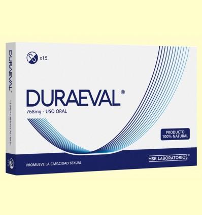 Duraeval - MSR Laboratorios - 15 cápsulas