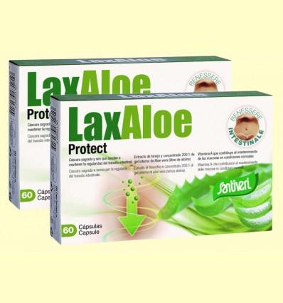 Laxaloe Protect - Santiveri - Pack 2 x 60 cápsulas