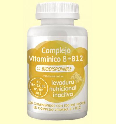 Complejo Vitamínico B y B12 - Energy Feelings - 120 comprimidos