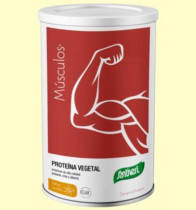 Proteína Vegetal Dynamic Protein sabor Vainilla - Santiveri - 455 gramos