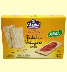 Noglut Tostadas Desayuno con Lino Bio - Santiveri - 160 gramos
