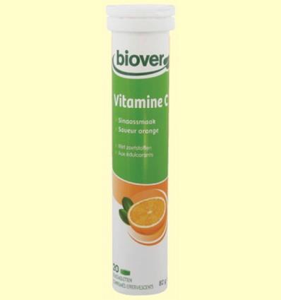 Vitamina C - Bhealty - Biover - 20 comprimidos efervescentes
