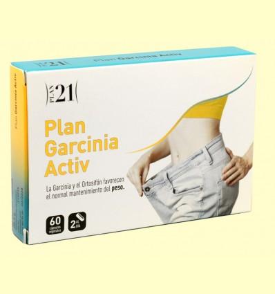 Plan Garcinia Activ - Plan 21 - Plameca - 60 cápsulas
