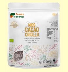 Cacao Criollo Nibs Eco - Energy Feelings - 1 kg