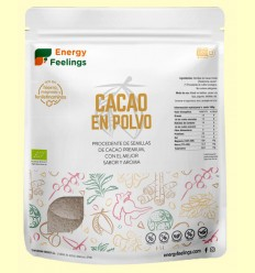 Cacao en Polvo Eco - Energy Feelings - 1 kg