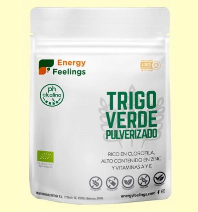 Hierba de Trigo Verde Pulverizado Eco - Energy Feelings - 200 gramos