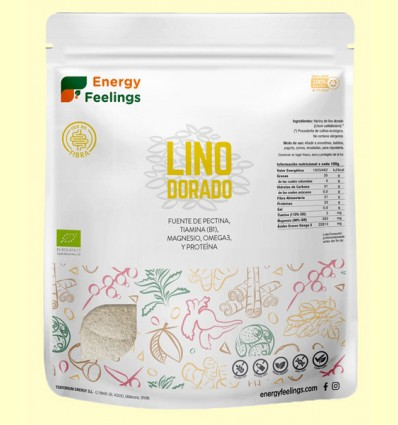 Harina de Lino Dorado Eco - Energy Feelings - 1 kg