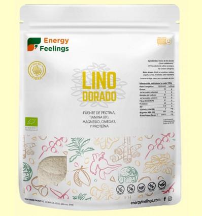 Harina de Lino Dorado Eco - Energy Feelings - 500 gramos